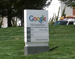 Googleplex Welcome Sign