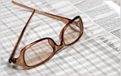 Eye Glasses on a Keyword Spreadsheet