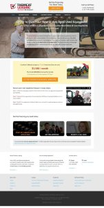 Thomcat Leasing Website by devEdge Internet Marketing