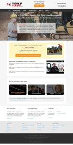 Thomcat Leasing Website by devEdge Internet Marketing