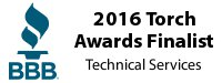 2016 BBB Torch Awards Finalist - Technical Services