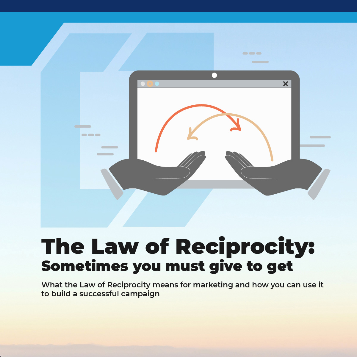 The Law of Reciprocity: Sometimes You Must Give to Get